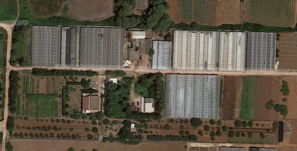 La nostra azienda, vista dal satellite